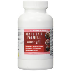Beard Growther beard growth vitamin review