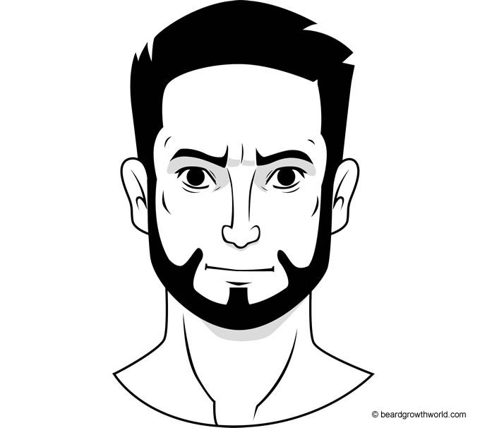 Klingon beard style